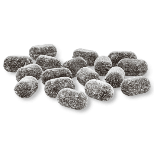 Sanded Licorice Drops